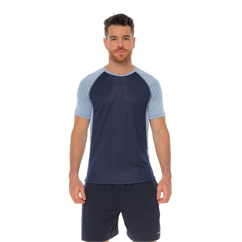 Camiseta--RACKETBALL-3569-Azul-Talla-M---Liso