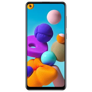 Celular Samsung Galaxy A21S Negro Dual Sim 64 GB