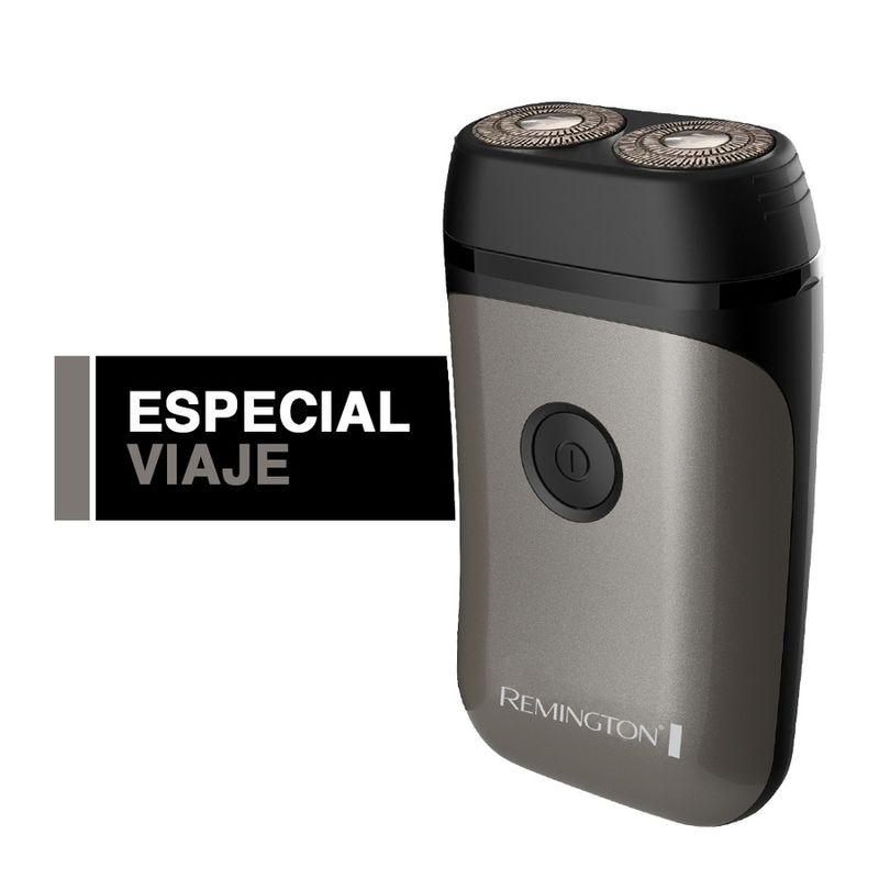 Afeitadora-rotativo-REMINGTON-Travel-Dos-Cabezales---Color-Plata---R95