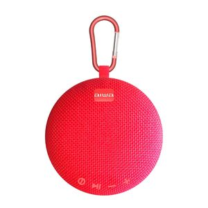 Parlante Aiwa Portátil  5 W RMS   Bluetooth  Rojo TWS - AWAX5BTR