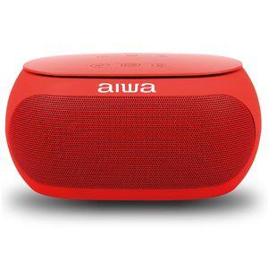 Parlante Aiwa Portátil  10 W RMS   Bluetooth  Rojo AW31R