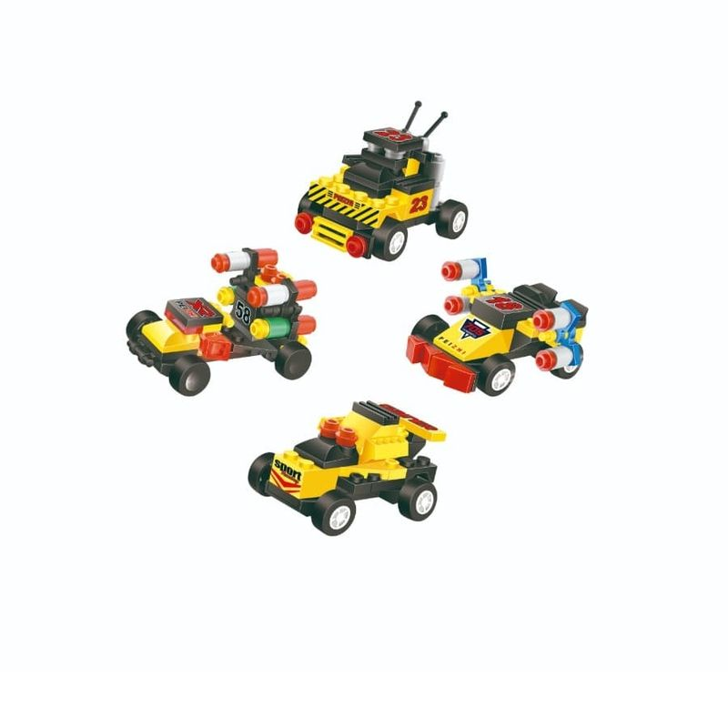 Bloques-Auto-Carrera---4-Surtidos---24-Box---Display