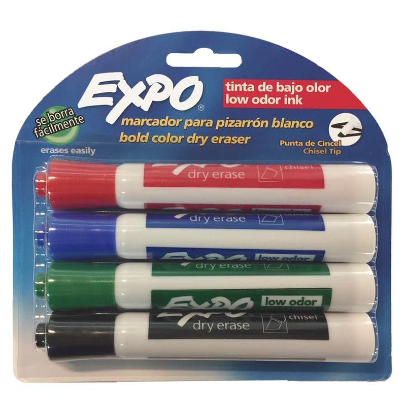 Marcador-Borrable-Expo-X4-Basicos
