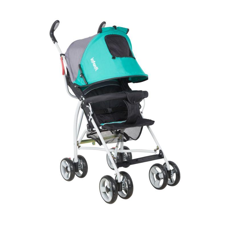 Coche-Sombrilla-Spin-H108-Black-Grey-Green-Infanti
