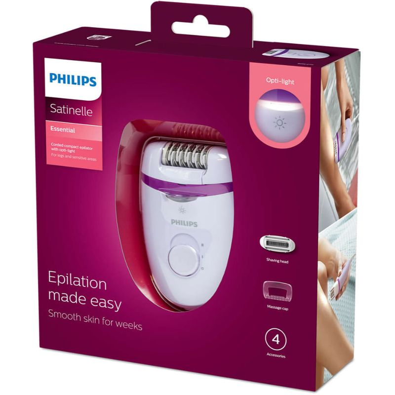 Combo-Depiladora-Philips-Satinelle-Essential---Bolso-Kobiety---Audifonos-Intrauditivos-Bre275-She1360-B00011-Philips