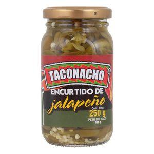 SALSA JALAPEÑO TACONACHO REBANADO 250 g