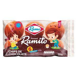 PONQUE RAMO CHIPS CHOCOLATE X6 222 g