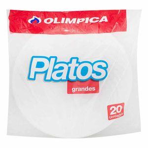 PLATO OLIMPICA GRANDE 20 un