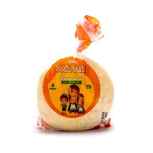Arepa Doña Paisa Relleno Queso 400 Gr X4 Unds