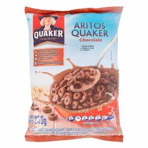 CEREAL QUAKER ARITOS CHOCOLATE 230 g