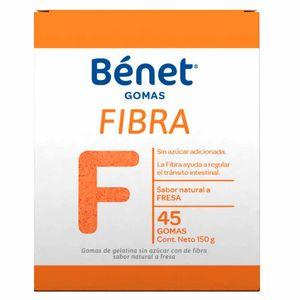 FIBRA BENET FRASCO X 45 GOMAS
