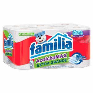 Papel Higiénico Familia Acolchamax Extra Grande 28.15 M X12 Unds