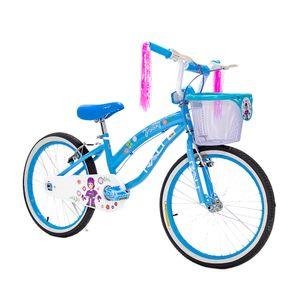 Bicicleta Rali Polly Infantil 20 Pulgadas Celeste